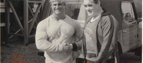 Tom Platz at Daves Gym 1980's (3)